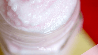 DIY Whipped Sugar Scrub