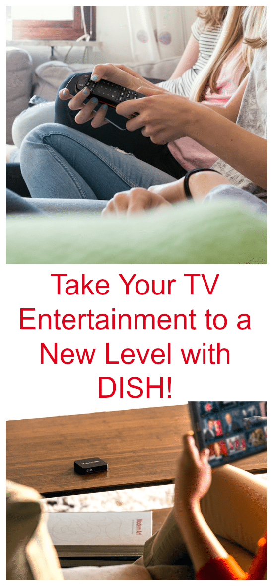 Take Your TV Entertainment to a New Level this Year with DISH integration with Amazon Alexa, Netflix, Hopper GO Pocket DVR amd MORE! AD #TV #television #entertainment