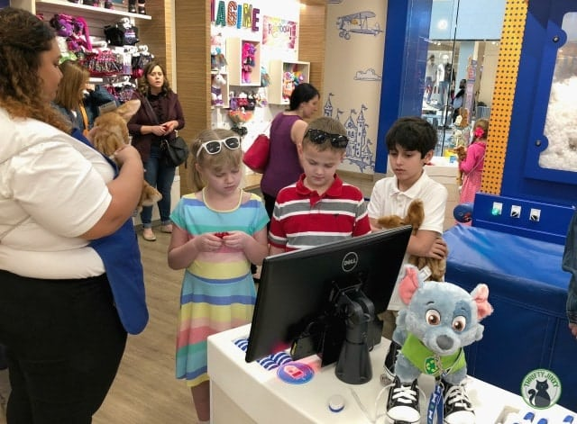 Build-a-Bear Sound Station