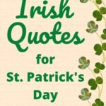 Irish Quotes for St Patricks Day