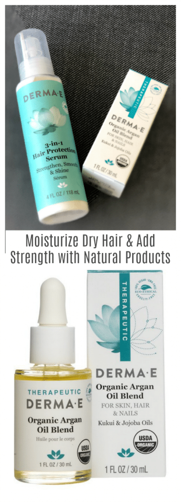 Moisturize Dry Hair and Add Strength with Natural Products