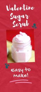 Valentine Sugar Scrub Recipe
