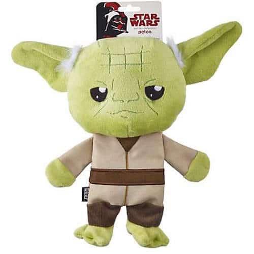 Star Wars Yoda Flattie Dog Toy