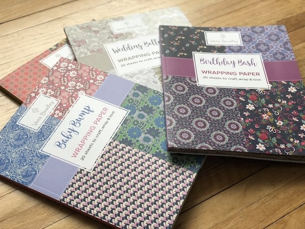 Vera Bradley Wrapping Paper Books