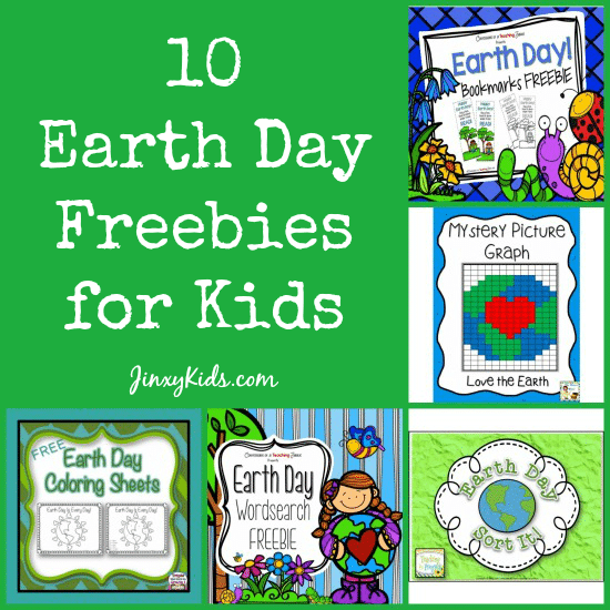 10 Earth Day Freebies for Kids