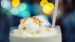 Cinnamon Milk Shake