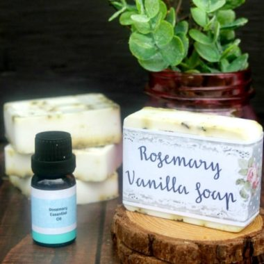 Easy DIY Rosemary Vanilla Essential Soaps 2
