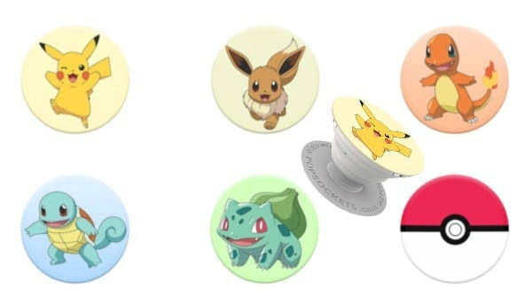Pokemon PopSockets with Pikachu Phone Accessory