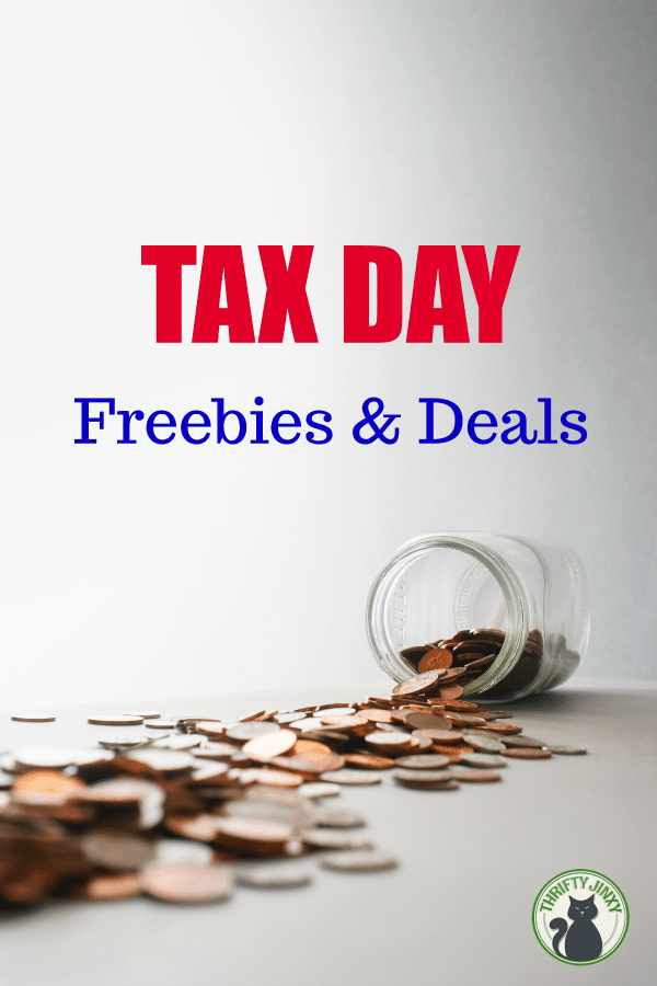 2019 Tax Day Freebies and Discounts