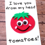 DIY Tomato Father's Day Card