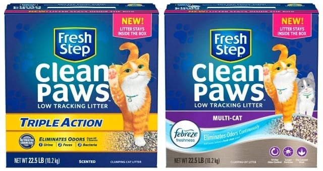 Fresh Step Clean Paws Cat Litter