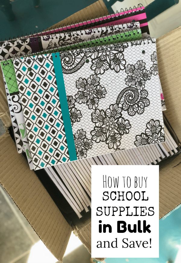 How to Buy School Supplies in Bulk and Save