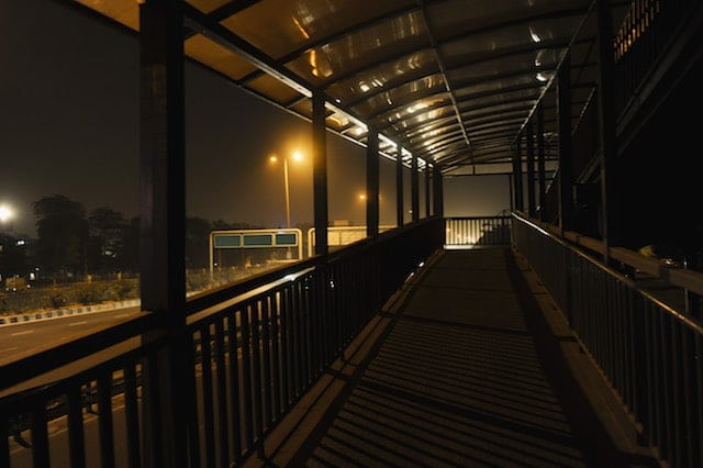 Night Safety Dark Walkway