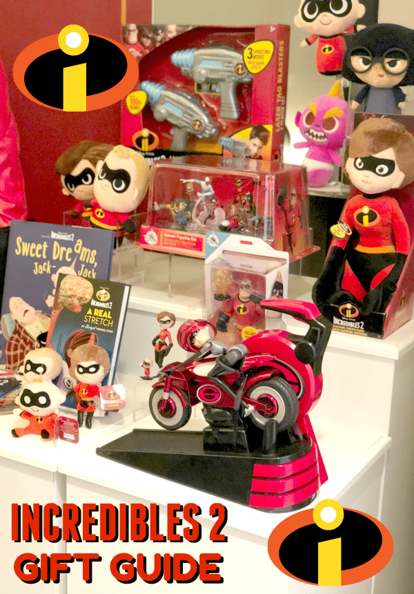 Incredibles 2 Gift Guide with New Products