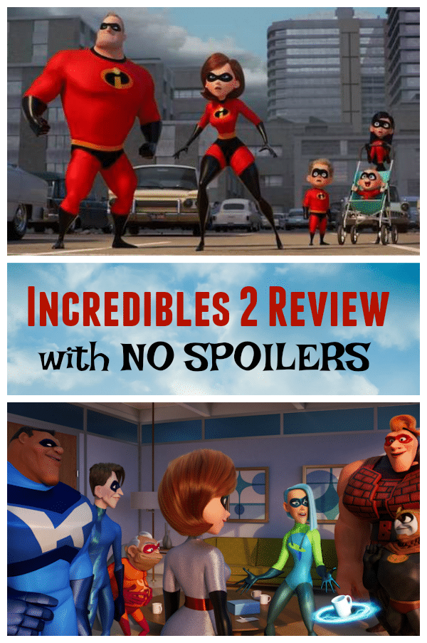 Incredibles 2 Review with No Spoilers