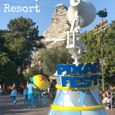 Pixar Fest at Disneyland Resort