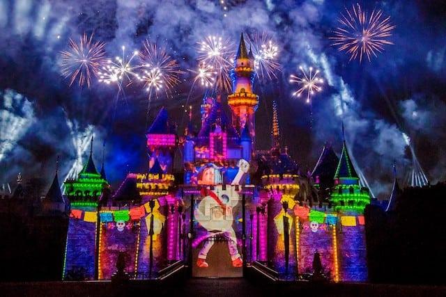 Pixar Nighttime Spectacular Coco Fireworks Pixar Fest