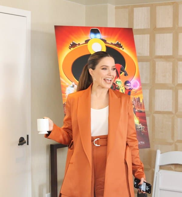 Sophia Bush Incredibles Interview