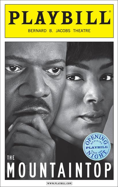 The Mountaintop Limited Edition Official Opening Night Playbill