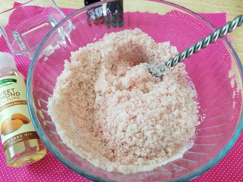 Pink Himalayan SaltScrub Mix