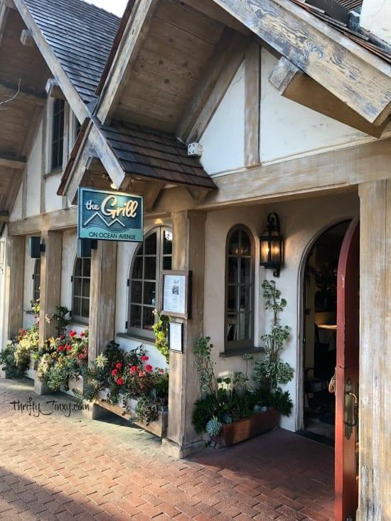 Grill on Ocean Avenue Carmel California