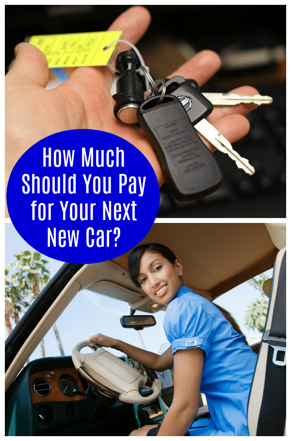 How much should you pay for your next new car?