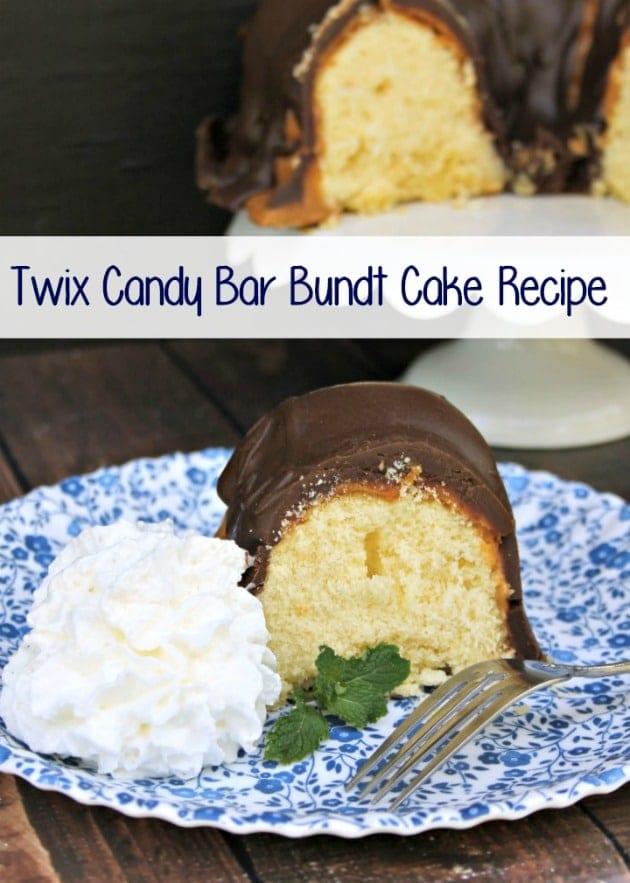 Twix Candy Bar Bundt Cake Recipe 3