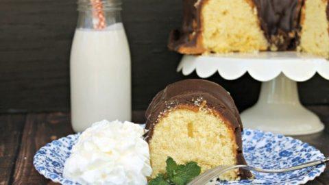 Easy TWIX Bundt Cake Recipe