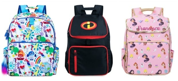 Most Popular Disney Baackpacks Back to School