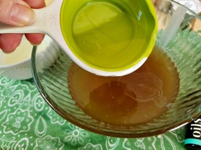 Handmade Essential Oils Muscle Ache Rub step4