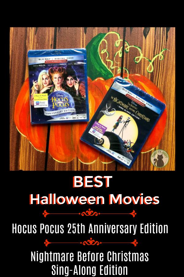 Best Halloween Movies Hocus Pocus Nightmare Before Christmas