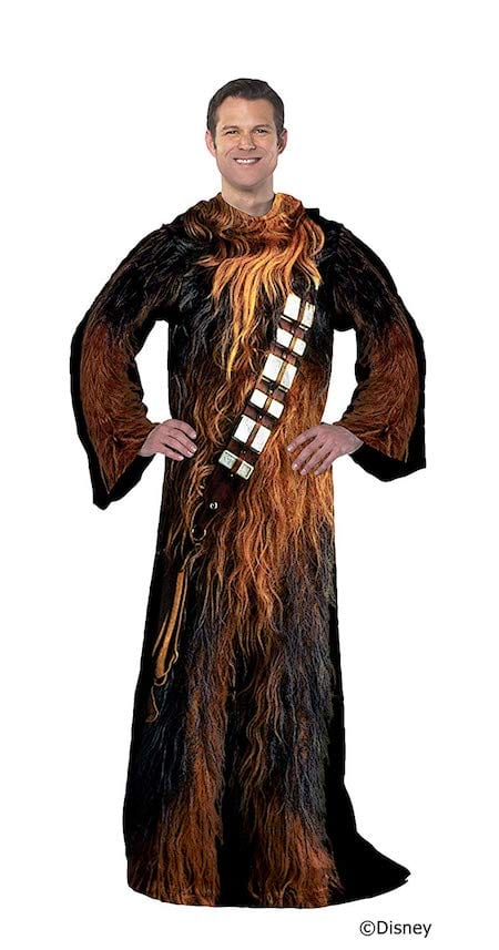 Being Chewie Throw Blanket with Sleeves