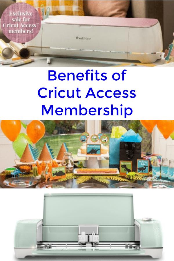 Cricut Access Benefits for Members