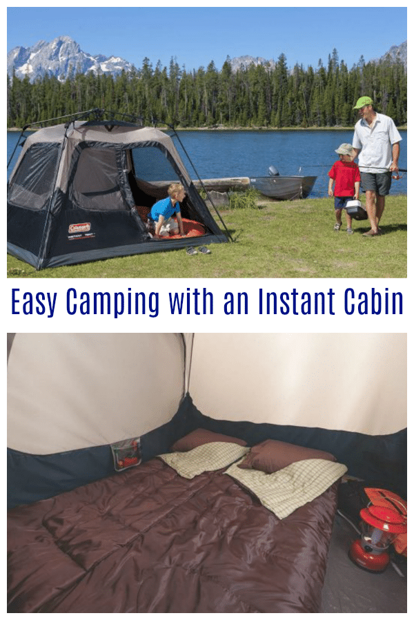 Easy Camping with an Instant Cabin