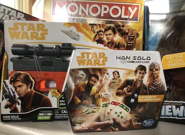 Hasbro Han Solo Toys