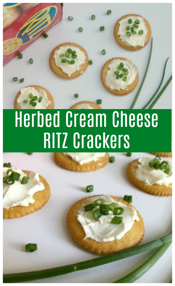 Herbed Cream Cheese RITZ Crackers