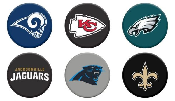the latest f8bb2 9f58c NFL PopSockets – Show Your Team Spirit! - Thrifty Jinxy