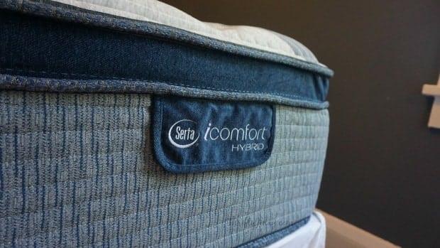 Serta iComfort Hybrid Label