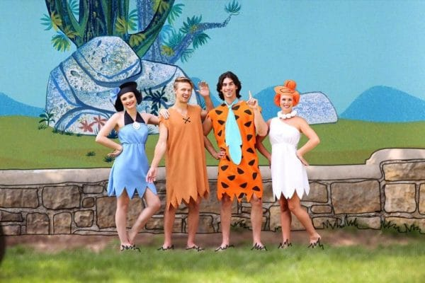 Flintstones Group Costume