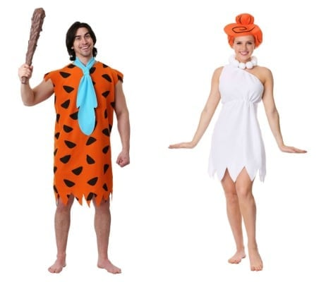 Fred and Wilma Flintstone Couples Costume