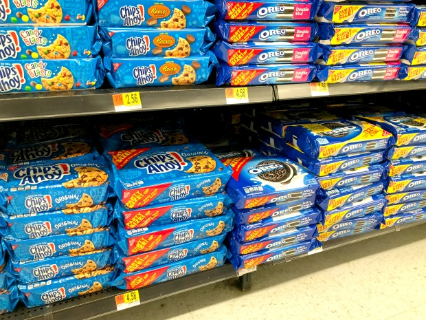 Chips Ahoy and OREO at Walmart