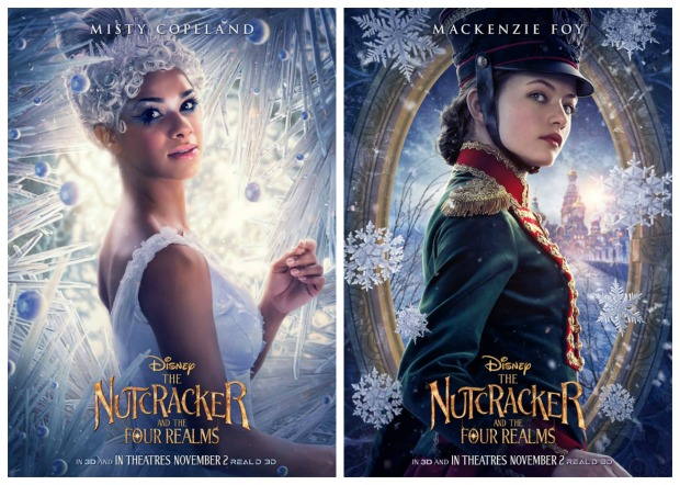 Nutcracker Posters Misty Copleand Mackenzie Foy