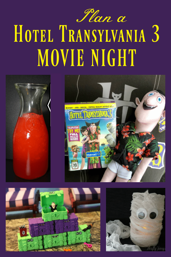Plan a Hotel Transylvania 3 Movie Night