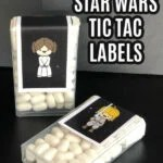star wars tic tac labels