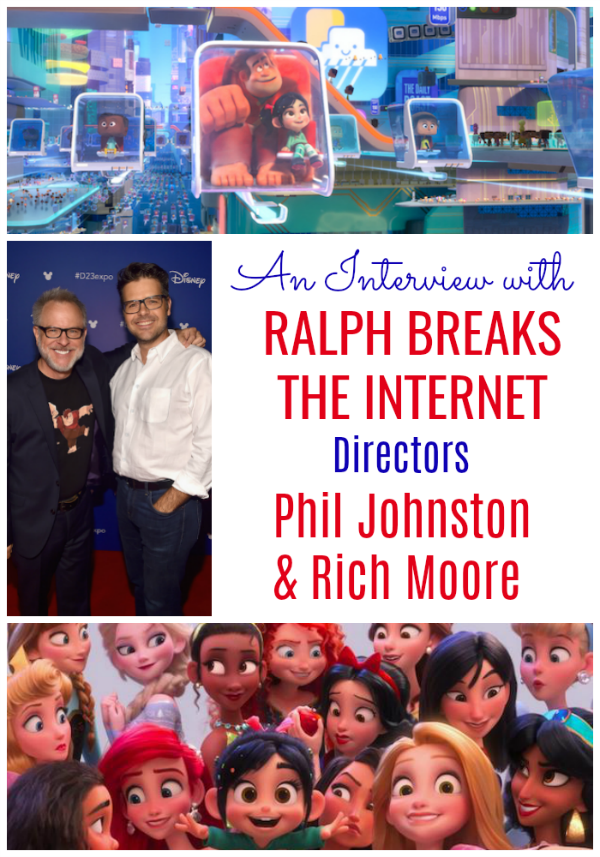 An Interview with Ralph Breaks the Internet Directors Johnston Moore