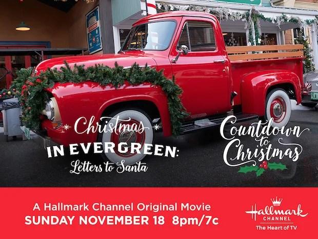 Christmas in Evergreen Truck