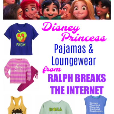 Disney Princess Pajamas and Loungewear from Ralph Breaks the Internet