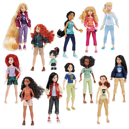Disney Ralph Breaks The Internet Vanellope Princesses Doll Set