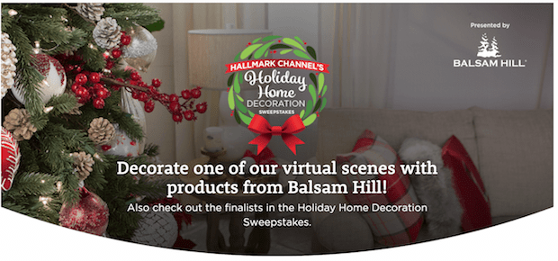 Hallmark Channel Holiday Home Decoration