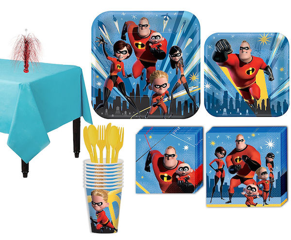 Incredibles party supplies